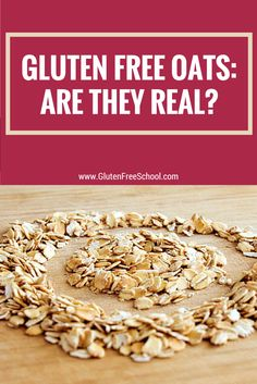 Are oats gluten free?  No, most oats are not.  In fact, you may have to search to find gluten free oats because there aren't that many producers who go the extract gluten-free mile. AVOID