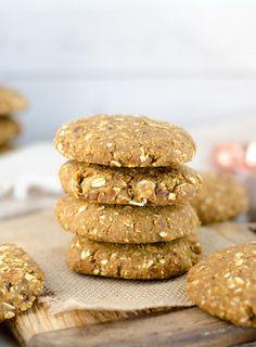 Vegan Chickpea Breakfast Cookies Gluten-free
