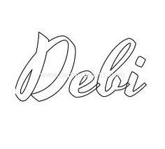 THE NAME DEBI -