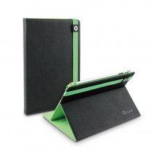 Funda Tablet 10 Pulgadas Muvit - Negra Verde Tira Sencilla  € 23,99