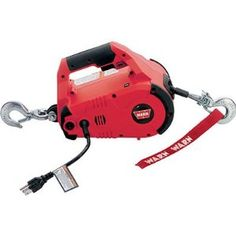 WARN 885000 Corded PullzAll 120V AC by Warn. $180.84. You think up the task and the WARN PullzAll can help you get more done in less time with less effort. Great for construction, pipe fitting, iron work, equipment/plant maintenance, auto shops, garages, and machine shops. Also ideal for farm and ranch use, home improvement, hunting, camping and more. Designed to move heavy machinery, hoist an engine block, or lift a load precisely into place, then nail it, weld i...