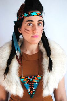 Why you should not be dressing up as a Native and then try to sell your necklace as Navajo.