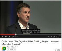La mente organizzata nell'era del sovraccarico dell'informazione /The Organized Mind: Thinking Straight in an Age of Information Overload