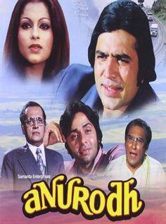 Anurodh Hindi Movie Online - Rajesh Khanna, Simple Kapadia, Ashok Kumar, Vinod Mehra, Nirupa Roy, Utpal Dutt and Rita Bhaduri. Directed by Shakti Samanta. Music by N/A. 1977 [U] ENGLISH SUBTITLE