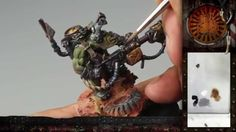 "PBCC 001 ""Ork Burna Boy"" Part Painting awesome free-hand oven-gloves :D Hand Gloves, Oven Glove, Boys, Awesome, Painting, Miniatures, Free, Videos, Baby Boys"