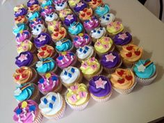 My Little Pony Cutie Mark Cupcakes | My Little Pony Birthday | Pinter…