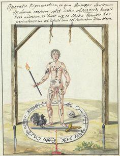 Compendium rarissimum totius Artis Magicae..., Wellcome Library, London, ca. 1775; Astaroth