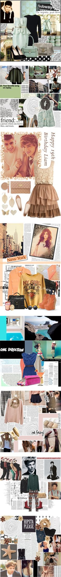"""""""Cute Outfits."""" by coolclaudio123 ❤ liked on Polyvore"""