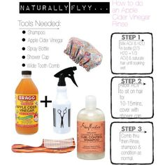 How to wash hair apple cider vinegar Naturally FLYY.How To Do An Apple Cider Vinegar Rinse Natural Hair Regimen, Natural Hair Care Tips, Natural Hair Journey, Natural Hair Styles, Natural Haircare, Vinegar Hair Rinse, Apple Cider Vinegar For Hair, Apple Coder Vinegar Hair, Apple Cider Vinegar Dandruff