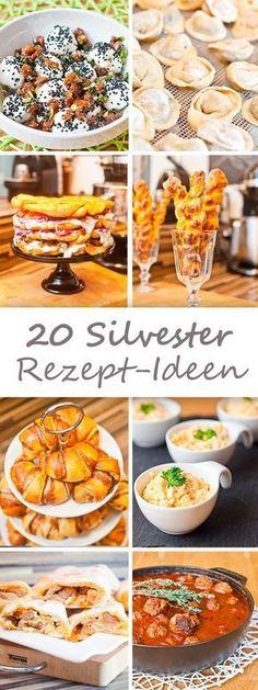 20 Silvester Rezept-Ideen (christmas food party ideas snacks)