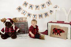Lumberjack Birthday Chalkboard, Lumber Jack, Bear, Plaid, Wilderness, Forest, LUMBERCHALK0520 First Birthday Posters, Boy First Birthday, 4th Birthday Parties, Birthday Party Decorations, Birthday Ideas, Milestone Birthdays, First Birthdays, Lumberjack Party, Lumber Jack