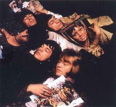 Rolling Stones Mick Jagger, Keith Richards, Brian Jones, Charlie Watts, Bill…