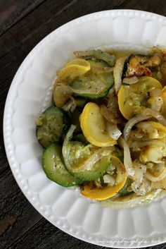 Delicious Sauteed Zucchini and Squash with onions recipe - perfect for serving as a side dish at your next dinner or family gathering!