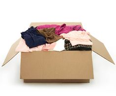 Practice organizational layaway. Keep a box for things you're thinking about getting rid of but aren't sure you can part with. When the box is full, write the date on it and store it. After one year, if you haven't needed or missed anything in the box, it's time to toss or donate.