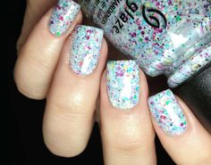 """Fashion Polish: China Glaze """"It's a Trap-eze"""" from the Cirque du Soleil Worlds Away collection"""