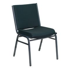 Santem Green Upholstered Stack Dining Chairs (Green Upholstered Stack Dining Chair 1) (Metal)