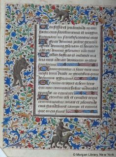 Book of Hours, MS M.28 fol. 33v - Images from Medieval and Renaissance Manuscripts - The Morgan Library & Museum