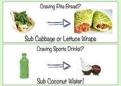 Making healthy swaps is easier than you think!