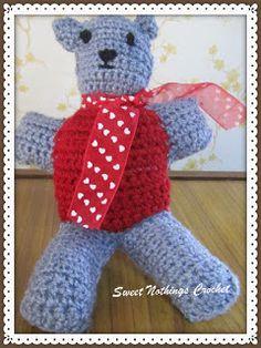 Sweet Nothings Crochet: LIL MR. TEDDY BEAR 1