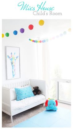 Toddler Baby Boy Colorful Rainbow Bedroom