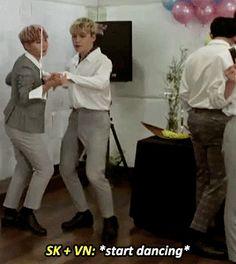 SVT x BTS LUV — hanwooz: slow dancing with verkwan