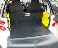 Smart For Two (Coupe & Cabriolet Model 451) 2007 onwards - Boot Liner
