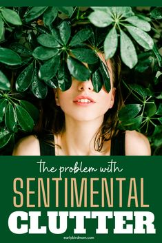 There's one BIG thing that makes going through sentimental items difficult. If you are ready to get rid of sentimental clutter, you gotta read this ... she talks about the most difficult things to declutter and how to deal with them ... and how to give yourself a little grace as you do it.