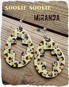 Sookie Sookie Miranda Leopard Earrings - Ravishing & Rugged