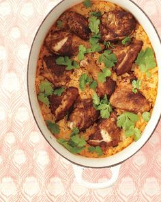 Curried Chicken with Coconut Rice - people, i made this for dinner and it is AMAZING. Use full fat coconut milk, tho.