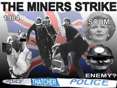 Thatcher 'milk snatcher' and the miner's strike. I was in hospital with pnemonia and my dad came to visit me when he came off duty.