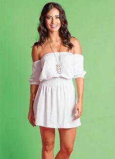 Vestido Ciganinha Branco - Posthaus
