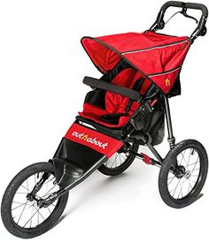 Out 'N' About Silla De Paseo Deportiva V4- Rojo Carnaval  #carricochesbebe