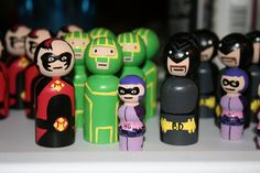 Kick-Ass army of peg people by giddygirlie, via Flickr