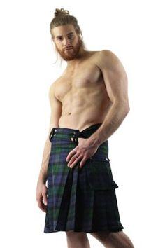 Tartan Kilt Scottish Plaid Green