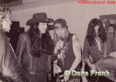 - The Loft, New York, NY Axl and Izzy jam with some members of The Cult - Ian Astbury, Jamie Stewart and the future drummer of the band Matt Sorum. Guns N Roses, Axl Rose, Jamie Stewart, Ian Astbury, Glenn Danzig, Wolf Children, Alternative Rock Bands, Welcome To The Jungle, Image Of The Day