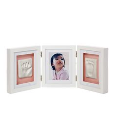 Look what I found on #zulily! Pearhead White Babyprints Desk Frame by Pearhead #zulilyfinds