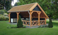 Kapschuur De Hoeve XL 635 x 440 x 375 cm Trendhout douglas hout
