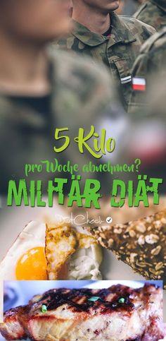 5 Kilo pro Woche abnehmen? Mit dem Ernährungskonzept der Militär Diät soll das möglich sein. Bei der Militär Diät handelt es sich um ein kalorienreduziertes und sportintensives System mit dem man schnell abnehmen kann. Funktioniert das wirklich?