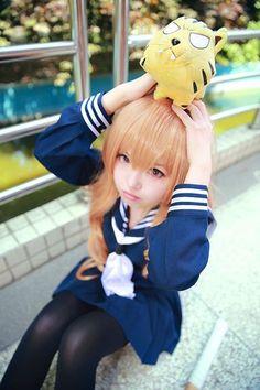 Anime Cosplay Girls, Kawaii Cosplay, Cute Cosplay, Amazing Cosplay, Best Cosplay, Real Anime, Anime Love, Taiga Cosplay, Ichigo Cosplay