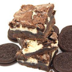Oreo Cheesecake Brownies. Enough said! #desserts