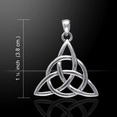 - Celtic Irish Triquetra Trinity Triple Goddess Protection Pendant. - Handcrafted in .925 Sterling Silver. - Maiden, Mother, Crone - Love, Honor, Protect - Father, Son, & Holy Spirit. - This Pendant i