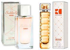 Equivalencias Clones Perfumes de Lidl | trendisima.com Lidl, Perfume Scents, Perfume Bottles, Voss Bottle, Water Bottle, Boss Orange, Ashley Graham, Beauty, Shopping