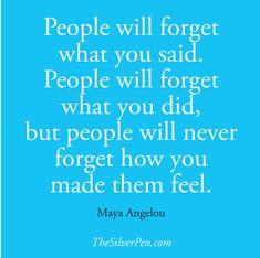 Maya Angelou Quote, thesilverpen.com
