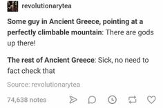 Tumblr Funny, Funny Memes, Hilarious, Jokes, Greek And Roman Mythology, Greek Gods, History Memes, History Facts, Art History