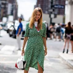 Ganni street style | Pernille Teisbaek | Dalton Crepe Dress