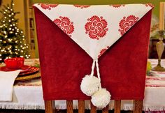 Christmas Chair Back Covers Ireland Prima Pappa High 40 Best Images Decorated Classic Sew4home Kitchen