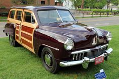 1947 Studebaker Champion woodie wagon prototype....one of a kind....