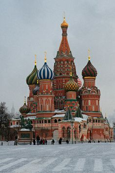 St. Basil Cathedral in Winter 3