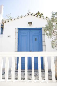 VISIT GREECE| Spetses unique archtecture, #Spetses, #island #atticaislands #Argosaronic gulf #greece #attica Greek Blue, Visit Greece, Dream Land, The Beautiful Country, Greek Islands, Homeland, Porches, Blues, Blue And White