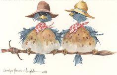 Bird Life - Carolyn Shores Wright